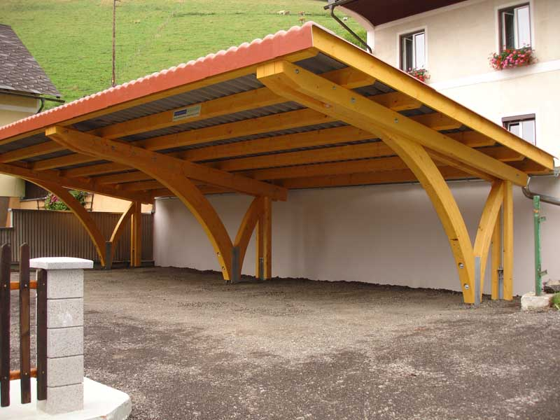 carport holzbau gmbh carports. Black Bedroom Furniture Sets. Home Design Ideas